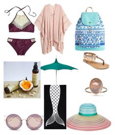 """Swim day"" by happyii ❤ liked on Polyvore featuring Penny Loves Kenny, Miu Miu, Missoni and PBteen"