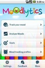 Moodlytics, Smart Mood Tracker for Android