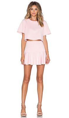 Shop for Toby Heart Ginger Set Me Up Top & Skirt Set in Baby Pink at REVOLVE