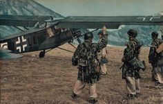 Campo Imperatore, Gran Sasso d'Italia, 12 September 1943: the final act of the Unternehmen Eiche (Operation Oak), the liberation of Benito Mussolini.