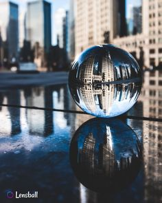City and buildings around me. Architectural, Reflection and Mirror Photography with Lensball Pro. Moonlight Photography, Magical Photography, Mirror Photography, Reflection Photography, Photography Projects, Creative Photography, Nature Photography, Street Photography, Rainy Wallpaper