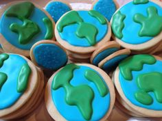 Earth Day Cookies April 2013? or 2012?