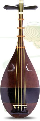 The pipa (Chinese: 琵琶; pinyin: pípá, [pʰǐpʰǎ]) is a four-stringed Chinese musical instrument, belonging to the plucked category of instruments.