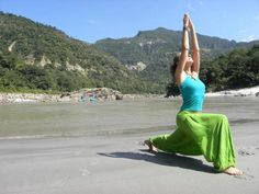 Yoga with Mahatma Yoga Foundation in Rishikesh, India.