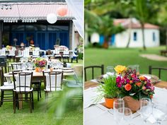 Casamento na Praia | Bárbara + Hugo | Vestida de Noiva | Fernanda Floret | Blog de casamentos cheios de amor de todo o Brasil Decor mesas