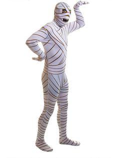 Rubies 2nd Skin Mummy Jumpsuit (White)