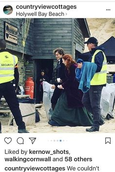 Poldark Season 4 Filming  Demelza & Hugh September 2017