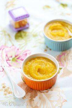 Compote pomme mangue (recette pour bébés)