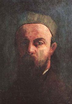 Odilon Redon,  Autoportrait (1880)