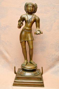Shiva Statue, Tanjore Painting, Buddha, Bronze, Sculpture, Statues, Brass, Art, Indian