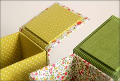 Caixas petit flores by Zoopress studio, via Flickr