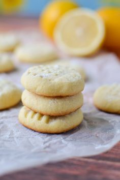 Lemon Butter Cookies | ateaspoonofhappiness.com