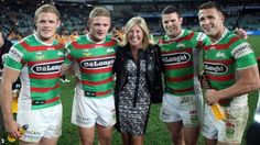 Burgess brothers  See, they love their Mommy too.