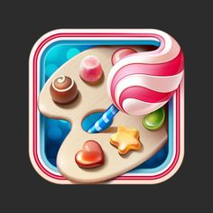 Sweet app icon by RamotionFollow:Twitter Facebook Pinterest Behance