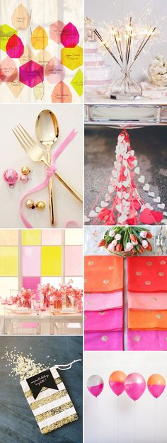 Bright And Beautiful Party Decor Inspiration