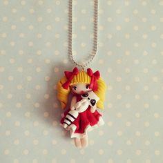 Collier Héroïnes de notre enfance - Candy - 1 : Collier par madame-manon