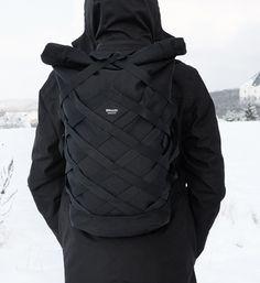 Wicker Rolltop Cordura 1100D Backpack Braasi Industry Made in Prague Czech Republic