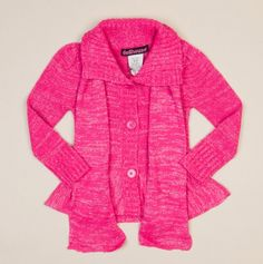 Long Sleeve Ruffle Sweater with Scarf - Toddler Girl Fall Dresses -
