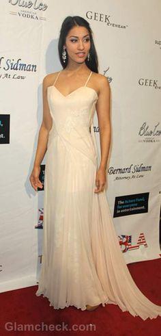 Janina Gavankar - she looks like I imagined Princess Evangelina.