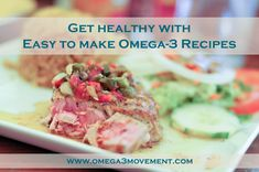 Get healthy with Easy to make Healthy Omega-3 Recipes The most exciting part about getting healthy is cooking delicious meals. In this article, we're going to give you a quick summary of why omega-3 fatty acids are so great for almost every single part of your body, which foods contain omega-3 fatty acids and how to cook delicious meals packed of omega-3.  Start cooking! http://www.omega3movement.com/fish-recipes-healthy-and-easy.html  #cooking #food #healthyfood #healthyeating #omega3