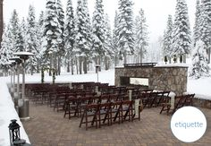 How Cold Is Too Cold For An Outdoor Wedding | Blog.TheKnot.com