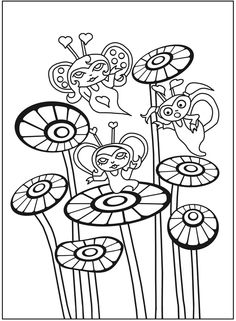 Let's Color Together -- Princesses, Mermaids & Fairies Welcome to Dover Publications