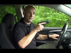 ▶ Drawing a Pistol in a Car - Defensive Pistol Tip from SIG SAUER Academy - YouTube