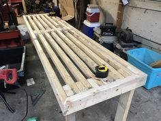 How To Build a Greenhouse Bench For Under 20 Dollars – two branches homestead Greenhouse Tables, Greenhouse Shelves, Heating A Greenhouse, Lean To Greenhouse, Backyard Greenhouse, Greenhouse Plans, Outdoor Projects, Wood Projects, Diy Table