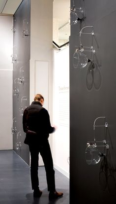 Andy Paiko Glass Sound Installation