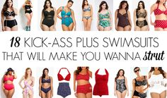 The Militant Baker: 18 KICK-ASS PLUS SWIMSUITS THAT WILL MAKE YOU WANNA STRUT