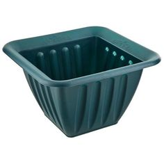 38cm Square Green Planter | Poundland