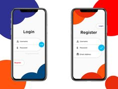 Minimal mobile login screen - My Original Ideas Web Design, Game Design, Login Page Design, App Ui Design, Mobile Login, App Login, Ui Design Mobile, Mobile Application Design, Android App Design