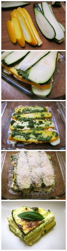 Zucchini Lasagna (Without the Pasta Sheets) | lookchef