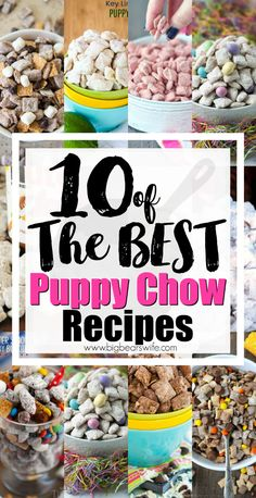 10 of the Best Puppy Chow Recipes - Powdered Sugar Chex Snack Mix - Puppy Chow Snack Mix (or Muddy Muddies) is a popular sweet treat that can be made . Puppy Chow Mix, Best Puppy Chow Recipe, Puppy Chow Recipes, Puppy Chow Recipe Without Peanut Butter, Puppy Chow Snack Mix Recipe, Muddy Buddies Recipe, Chez Mix Recipes, Trail Mix Recipes, Snack Mix Recipes