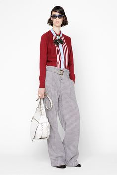 Marni resort 2013. Oh my, those pants. So comfy, slouchy, menswear, to go with the neat-as-a-pin top. Pretty colors too.