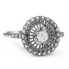 The Isadore Ring #BrilliantEarth #Antique