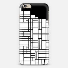 Map Boarder Black - Classic Snap Case