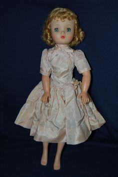 "Vintage Beautiful Madame Alexander Cissy 20"" Doll with Authentic Summer Dress"