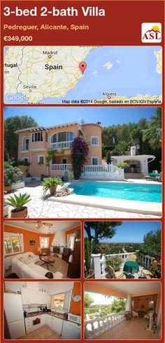 3-bed 2-bath Villa in Pedreguer, Alicante, Spain ►€349,000 #PropertyForSaleInSpain