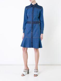 Alexander McQueen джинсовое платье