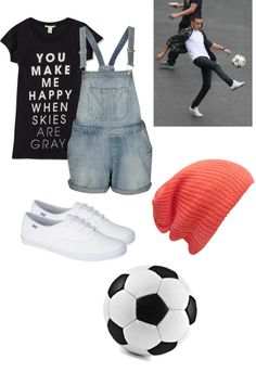 """Playing Soccer with Liam"" by corissa-paris ❤ liked on Polyvore"