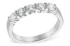 Image result for diamond ring with 5 stones