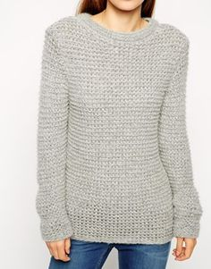 Enlarge ASOS Sweater in Chunky Mohair Stitch