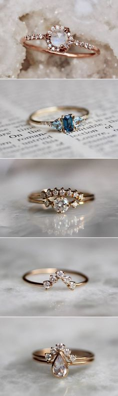 BEST OF 2017: 12 Most Loved Wedding Accessory Shops! Best Selling Engagement Rings #weddingring #engagementrings