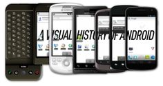 a visual history of android, great read if you're into mobile interface design Technology Posters, Technology Updates, Digital Technology, New Technology, Android History, Phone Jokes, Ui Patterns, Digital News, Mobile App