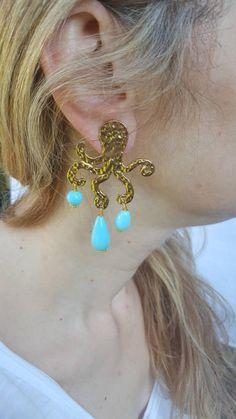 61b474532df6d9 Baroque pearl earrings, flameball pearl earrings, dangle earrings ...