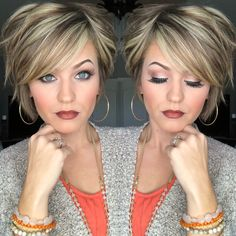Image gallery Page 692428511436788360 Artofit + Short Hair With Layers, Short Hair Cuts, Short Hair Styles, Layered Bob Short, Layered Bob Hairstyles, Straight Hairstyles, Trending Hairstyles, Great Hair, Hair Trends