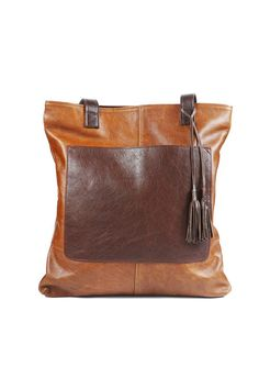 55ac7c417240 Jenna Shopper Deluxe - Pecan + Nicotine by Antelo Bags Online Shopping