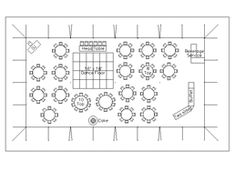 Floor Plan For Wedding Reception With 150 Guests Seating Arrangement Flowers