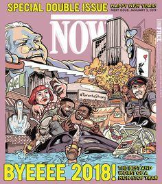 Cover Dec 20, 2018 Now Magazine, Happy New Year, Toronto, Restaurants, Comic Books, Comics, Cover, Diners, Happy New Years Eve